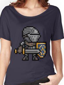 Oscar of Astora, Elite Knight Pixel Art Women's Relaxed Fit T-Shirt