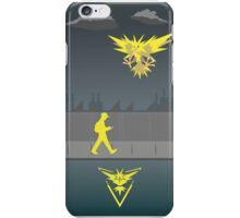 PokemonGO Team Instinct iPhone Case/Skin