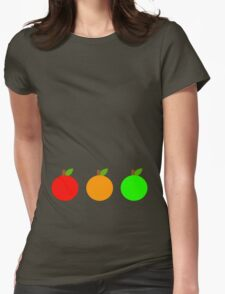 Traffic Fruit  Womens Fitted T-Shirt