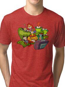 Rocko's sofa Tri-blend T-Shirt