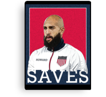 Tim Howard Saves Canvas Print