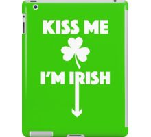 Kiss Me I'm Irish! iPad Case/Skin