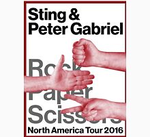 PETER GABRIEL STING ROCK PAPER SCISSORS 2016 Unisex T-Shirt