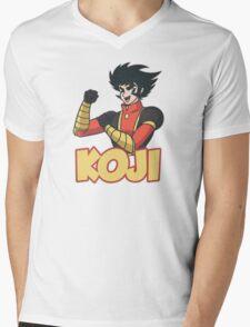 Koji Kabuto Mazinger Mens V-Neck T-Shirt