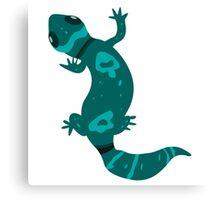 Blue Leopard Gecko  Canvas Print