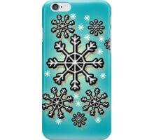 snowflake in sky iPhone Case/Skin