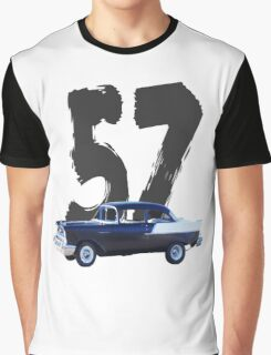 57 Chevy - Shirts, Prints, Cards, Sleeves Graphic T-Shirt