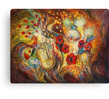 The song of Red Rooster Canvas Print