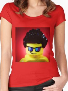 The popular Lego model! Women's Fitted Scoop T-Shirt