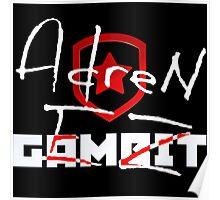 Gambit AdreN   CS:GO Pros Poster