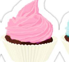 Cupcake Trio Sticker