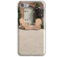 English Walled Kitchen Garden iPhone Case/Skin