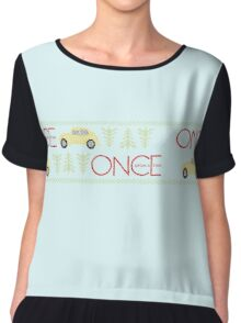 Once Upon a Time Christmas Chiffon Top