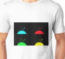 Pop Art Fireworks Unisex T-Shirt