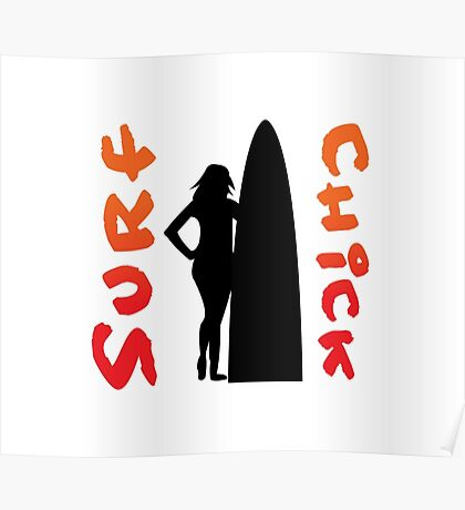 Surf Chick Poster