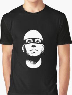 Baldhead Hero Illustration Graphic T-Shirt