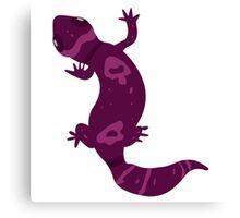 Purple Leopard Gecko Canvas Print