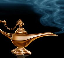Magic Lamp by Paul Fleet