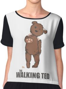 THE WALKING DEAD - TED Chiffon Top