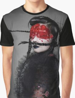 BJORK RED EYES Graphic T-Shirt