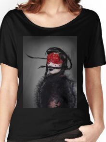 BJORK RED EYES Women's Relaxed Fit T-Shirt
