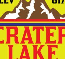 CRATER LAKE NATIONAL PARK OREGON MOUNTAINS HIKING CAMPING HIKE CAMP BOATING FISHING Sticker