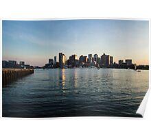 Skyline of Boston Poster