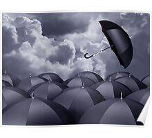 Stormy day Poster