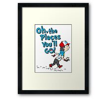 Go Trainer Go! Framed Print