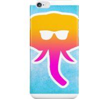 Elephant Sunglasses Trippy Vibes iPhone Case/Skin