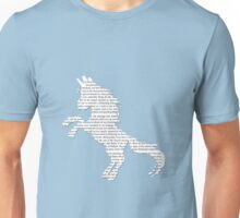 Unicorn is the Word Unisex T-Shirt