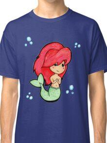 Chibi 'Lil Mermaid - original marker illustration Classic T-Shirt