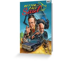 Better Call Saul Poster Greeting Card
