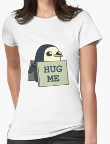 Gunther - Hug Me Womens Fitted T-Shirt