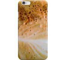 Close-up of a cafe latte coffee iPhone Case/Skin