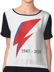 BOWIE 1947-2016 Chiffon Top