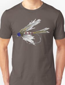 Fly Fishing American Tie Unisex T-Shirt