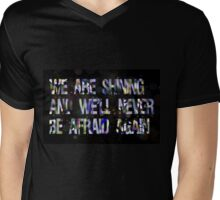 """""""We are shining"""" quote by Florence+The Machine Mens V-Neck T-Shirt"""