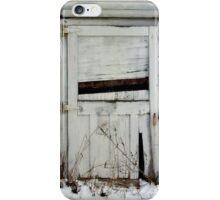 Broken Barn Doors iPhone Case/Skin