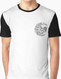 La Dispute Inspired Mandala Sea Scene Graphic T-Shirt