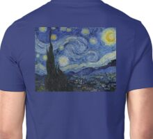 VINCENT, Starry Night, Vincent van Gogh, Art, Artist, 1889  Unisex T-Shirt