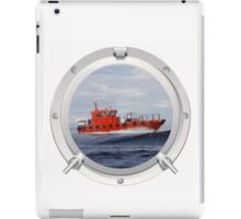 Port Hole View iPad Case/Skin