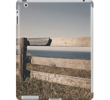 The old wooden fence iPad Case/Skin