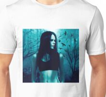 Courtney green with crows Unisex T-Shirt