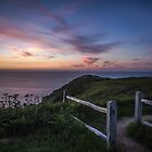North coast sunset_Sue Trower by jerseygallery
