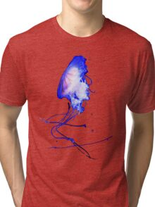 Funky Cool Cute Fun Unique Summer Jellyfish Tri-blend T-Shirt