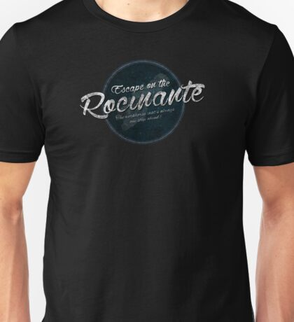 The Expanse - Rocinante - Teal Dirty Unisex T-Shirt