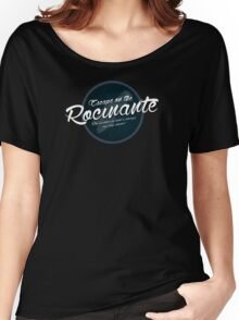 The Expanse - Rocinante - Teal Clean Women's Relaxed Fit T-Shirt