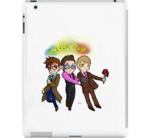 Three Clever Boys iPad Case/Skin