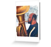Tuba Tune Greeting Card